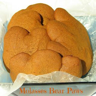 Homemade Molasses Bear Paws