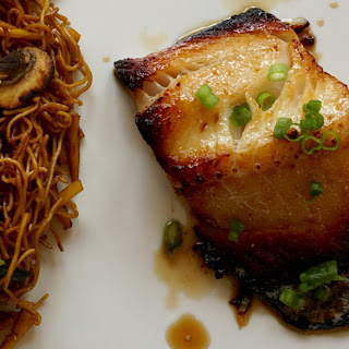 A Fable of Sablefish (Miso Black Cod)