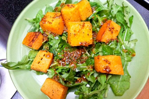 Photo: Roasted Squash Salad Recipe: http://bit.ly/QlH0Ks