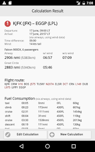 Aviapages Flight Calculator- screenshot thumbnail