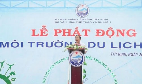 Du lịch Tây Ninh hướng tới môi trường xanh