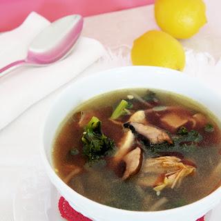 Ultra yummy – Ultra protein kale and portobello soup