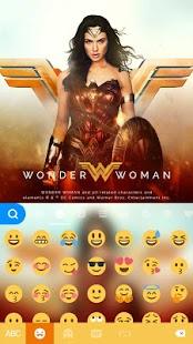 Wonder Woman Kika Emoji Theme - náhled