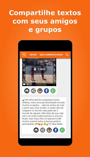 Vídeos e imagens para whatsapp screenshot 6