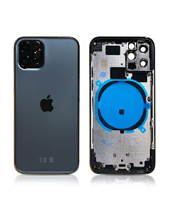 iPhone 11 Pro Housing without small parts HQ Space Gray