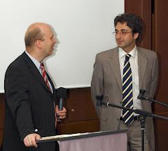 Photo: Green Ventures 2008;   Torsten welcoming Domenico Varuzza from Italy - photo miltoncontact.com / miltoncontact.co.uk