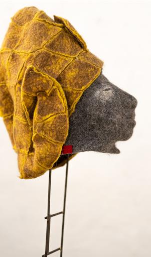 #mask #pieceunique #art #wool #laine