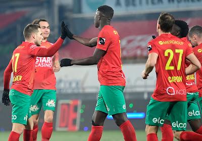 Het spitsenprofiel van Makhtar Gueye: de boomlange en stevige spits die het de verdediging van Club moeilijk wist te maken
