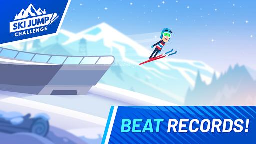 Ski Jump Challenge  captures d'écran 1