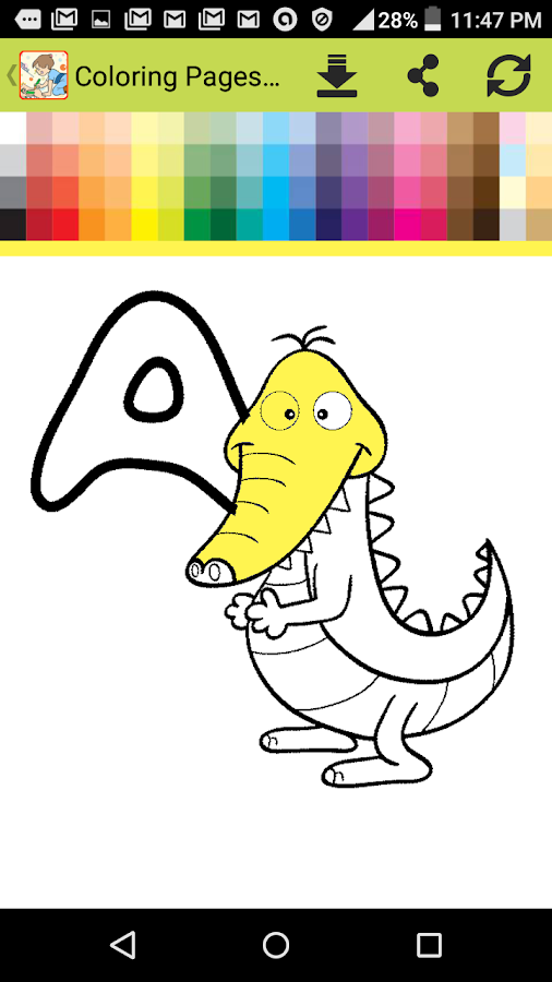 Coloring Pages for Kids Free - Android Apps on Google Play