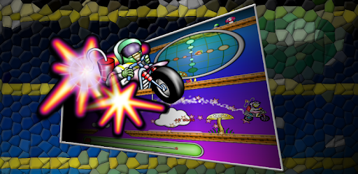 New Retro Bike Jump Game with no ads