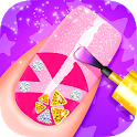 Henna's Nail Beauty SPA Salon - Games for Girls icon