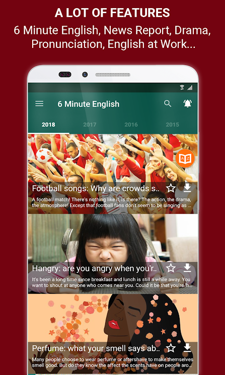 Learning English by BBC Podcasts v5 0 5 [Pro] - ReleaseAPK