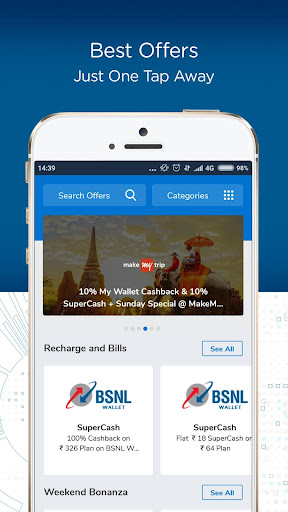 BSNL Wallet- Recharge,Bill Payments,Money Transfer screenshot 5