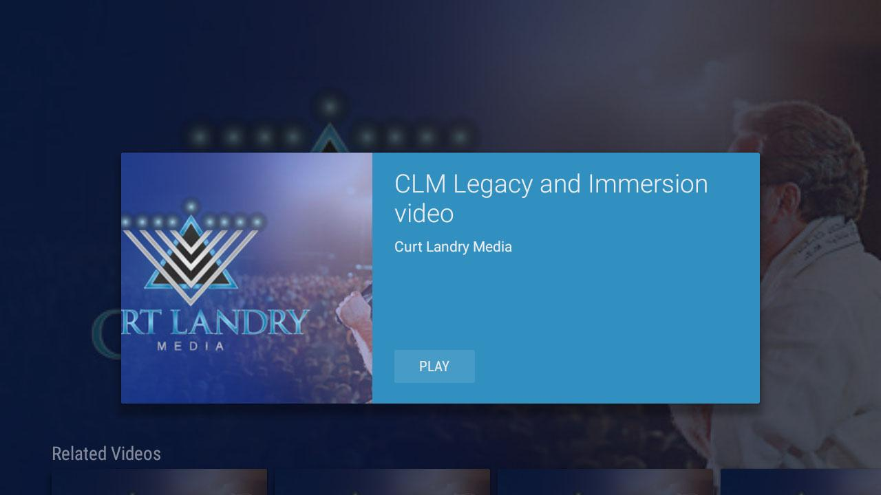 Curt Landry Media- screenshot