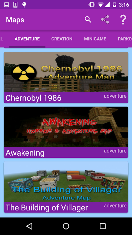 how to add maps to minecraft pe