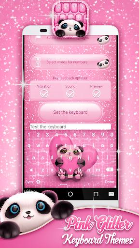 玩個人化App|粉紅色的鍵盤主題免費|APP試玩