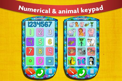 子供のための赤ちゃんの携帯電話 - Free Games