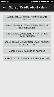 Dr APJ Abdul Kalam screenshot