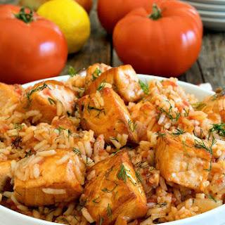 Salmon Tomato Rice Recipes