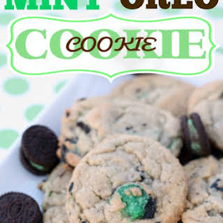 Mint Oreo Cookie in a Cookie.
