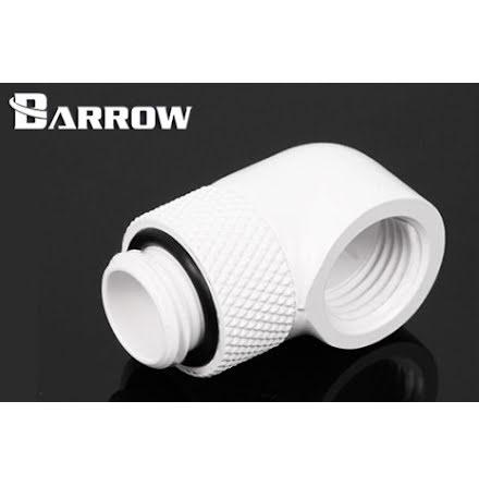 "Barrow svivel, 90°, 1/4""BSPx1/4""BSP, White"