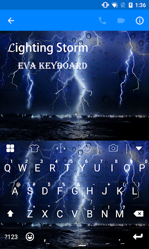 Lighting Storm Emoji Keyboard