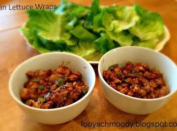 Amazing Asian Lettuce Wraps