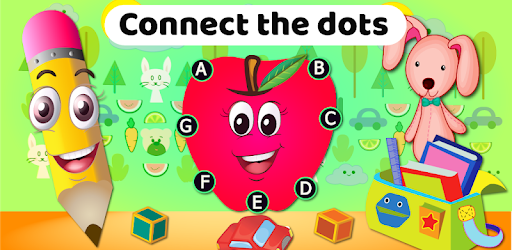 Dot to dot Game - Connect the dots ABC Kids Games - Apps ...