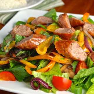 Paleo Sausage and Peppers Salad