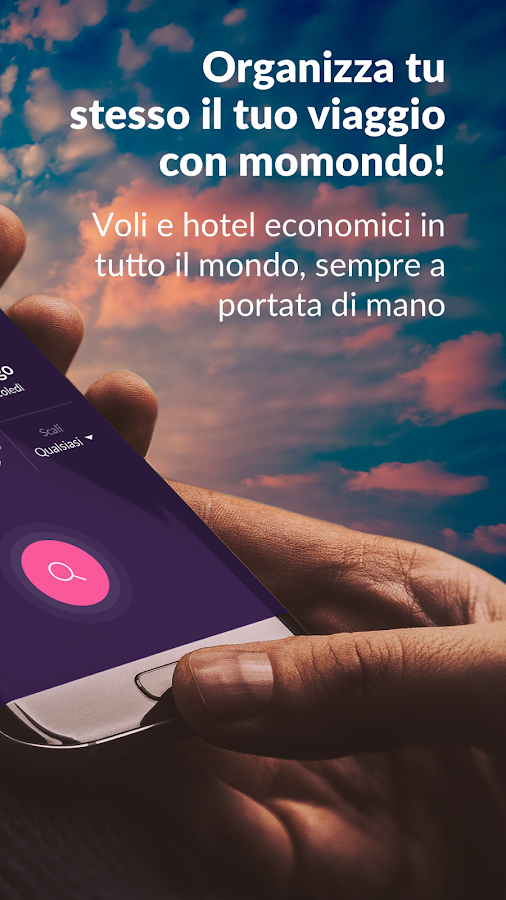 Voli Low Cost & Hotel momondo- screenshot