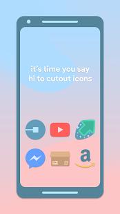 Cutout Icon Pack Screenshot