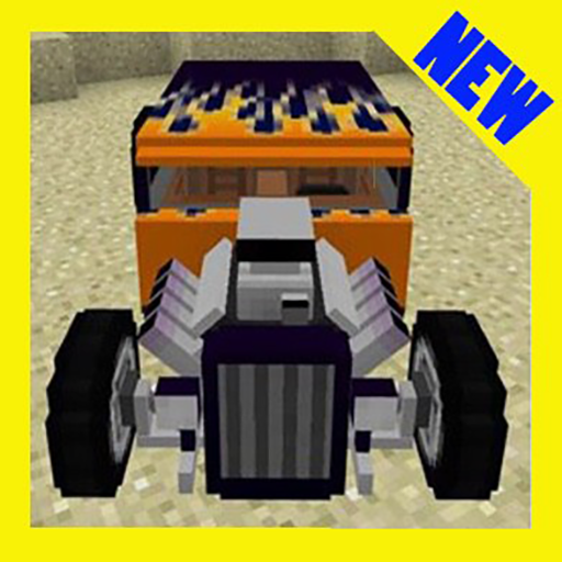 Hot-rod race addon Minecraft PE