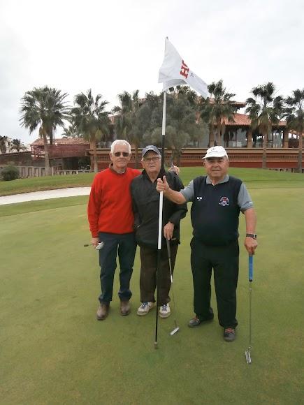 El golf almeriense goza de buena salud.