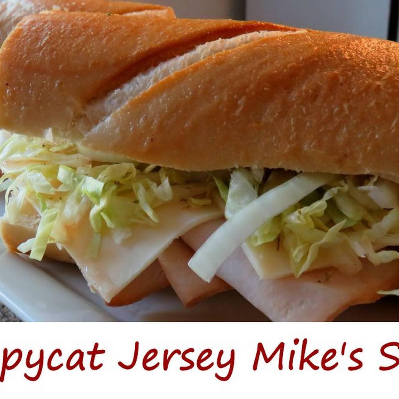 Copycat Jersey Mikes Sub