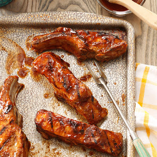 Country-Style Grilled Ribs.