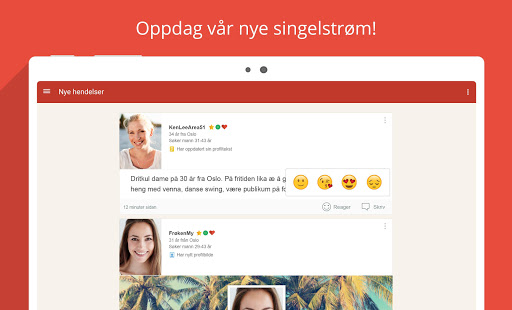 Møteplassen - seriøs dating- screenshot thumbnail