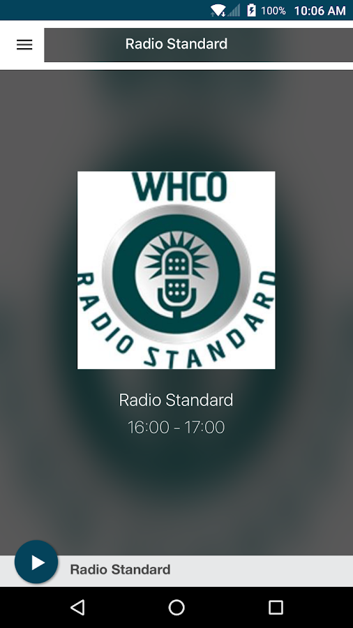 Radio Standard- screenshot