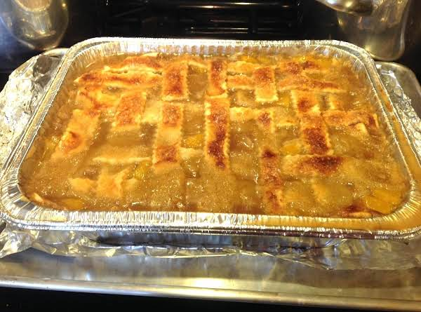 Lady Rose's Brandy Peach Cobbler With Dumplings Recipe