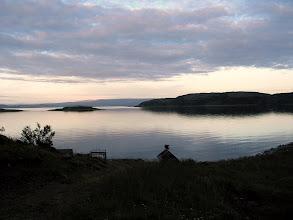 Photo: pierwszy nocleg w Norwegii
