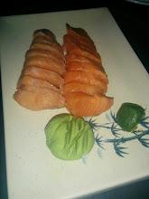 Photo: Salmon Sashimi