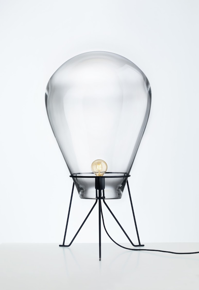 Bomma's giant glass floor light