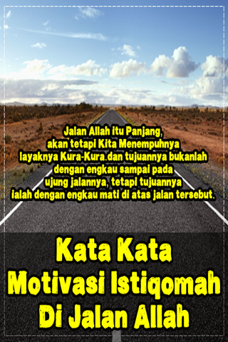 Download Kata Kata Motivasi Istiqomah Di Jalan Allah Apk