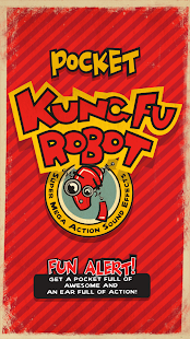 Pocket Kung Fu Robot- screenshot thumbnail