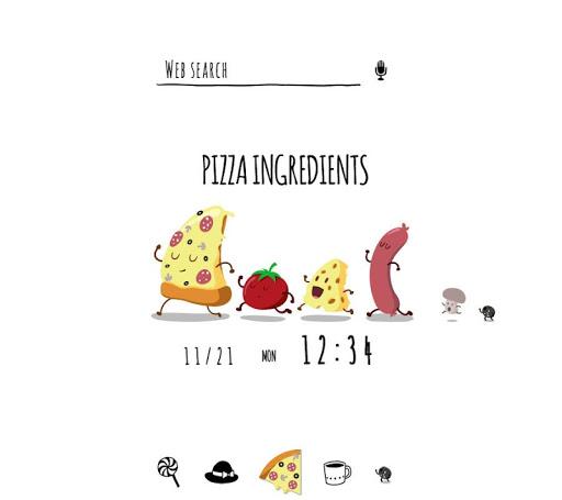 Funny Pizza +HOME Theme 1.0.0 Windows u7528 1