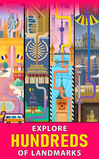 Solitaire Landmark: Brained Out Puzzle Card apkmind screenshots 18