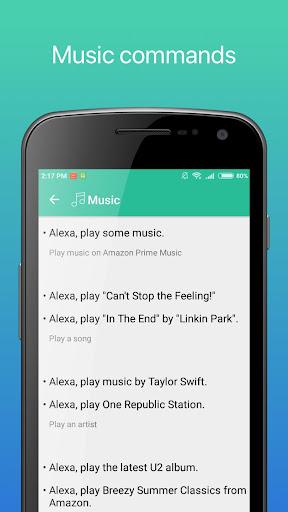 Commands for Alexa screenshots 2