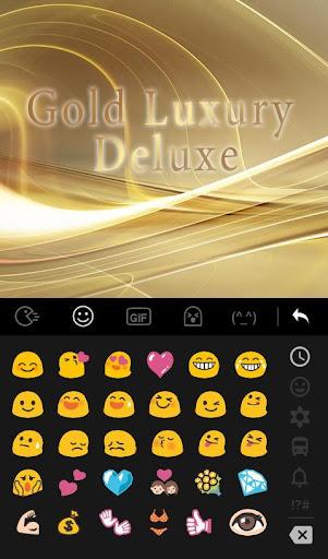 Luxury Gold Keyboard Theme 6.6.1.2019 screenshots 2