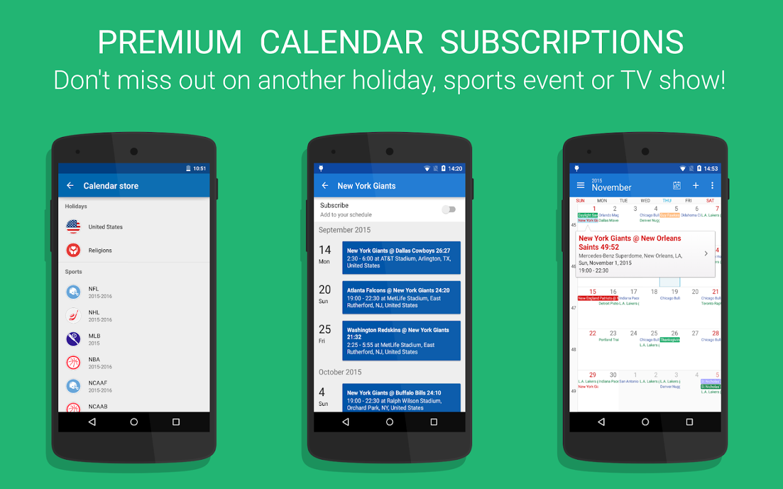 DigiCal Calendar- screenshot