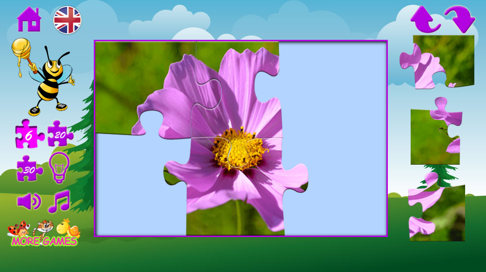 Puzzles nature- screenshot